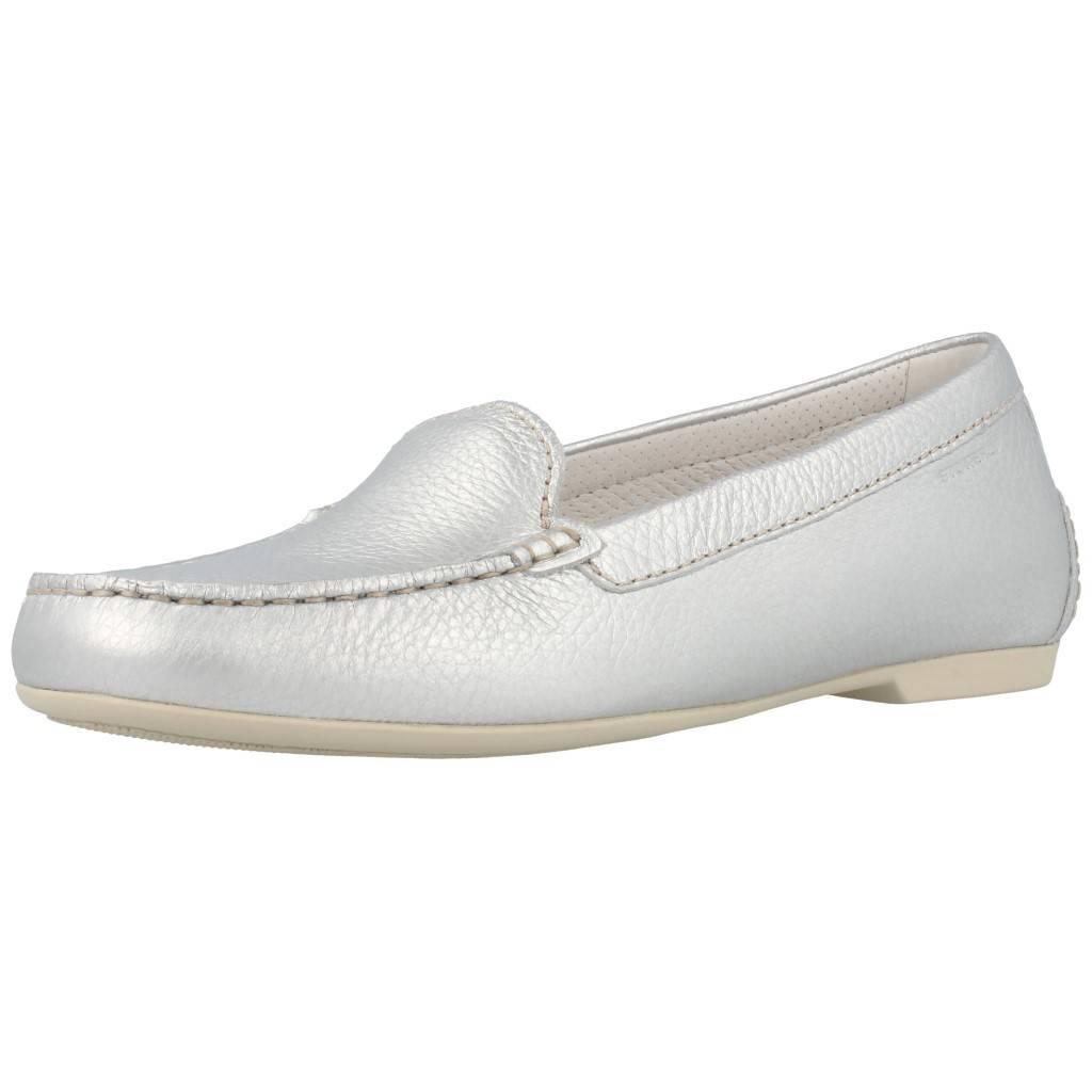 Mocassin Damen STONEFLY 106131, Farbe Silber Silber Farbe 9e3cca