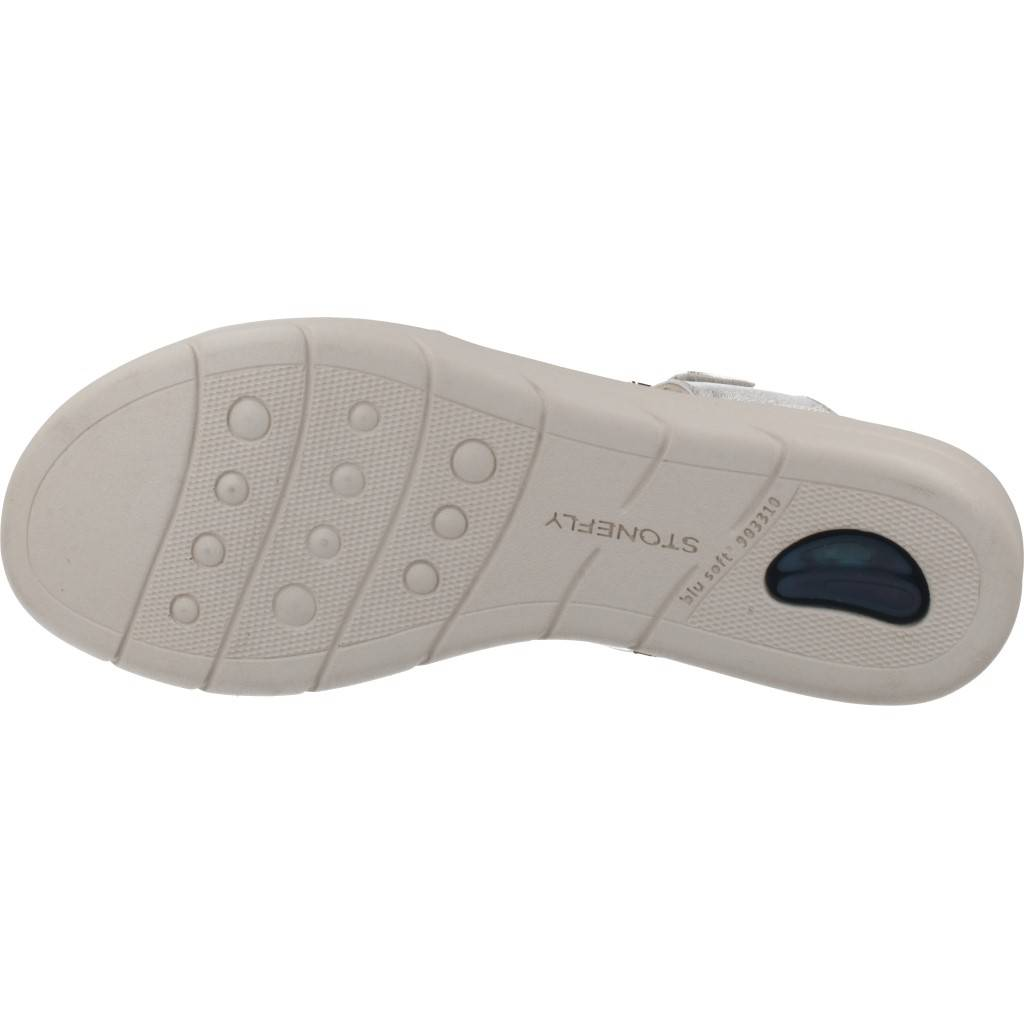 Stonefly Vanity Iii 16 Plata Zacaris Zapatos Online - Gran Venta