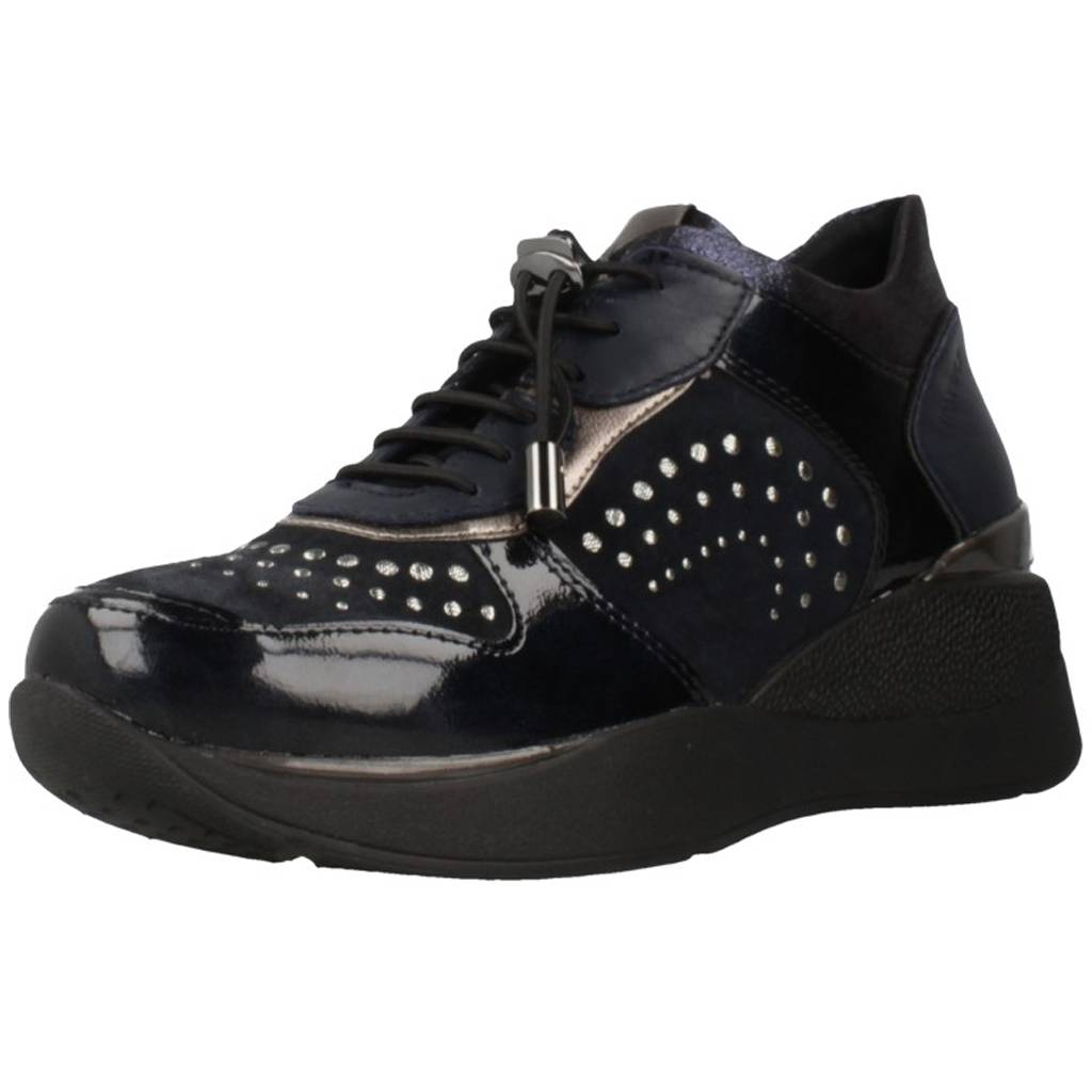 Stonefly Elettra 6 Azul Zacaris Zapatos Online - Gran Venta