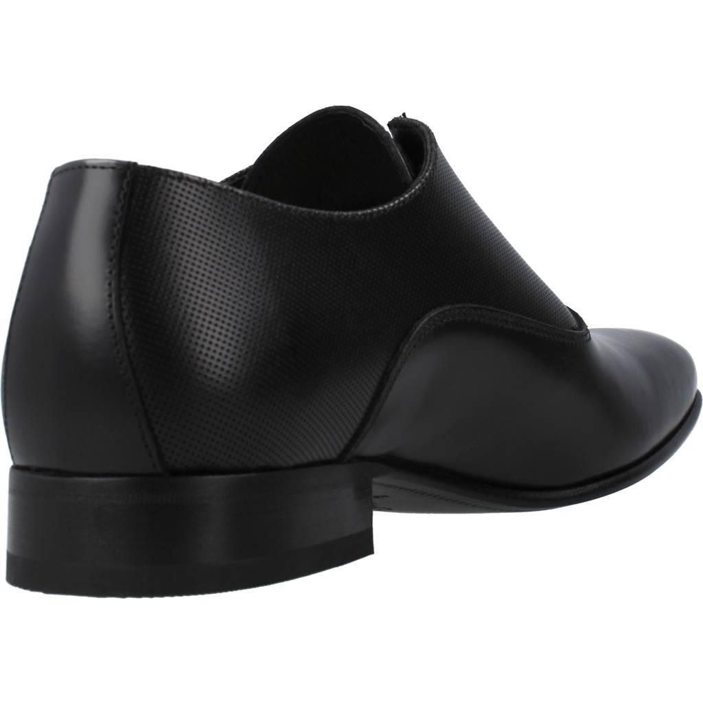 Kleid Schuhe Herren SERGIO SERRANO 2353, Farbe Schwarz