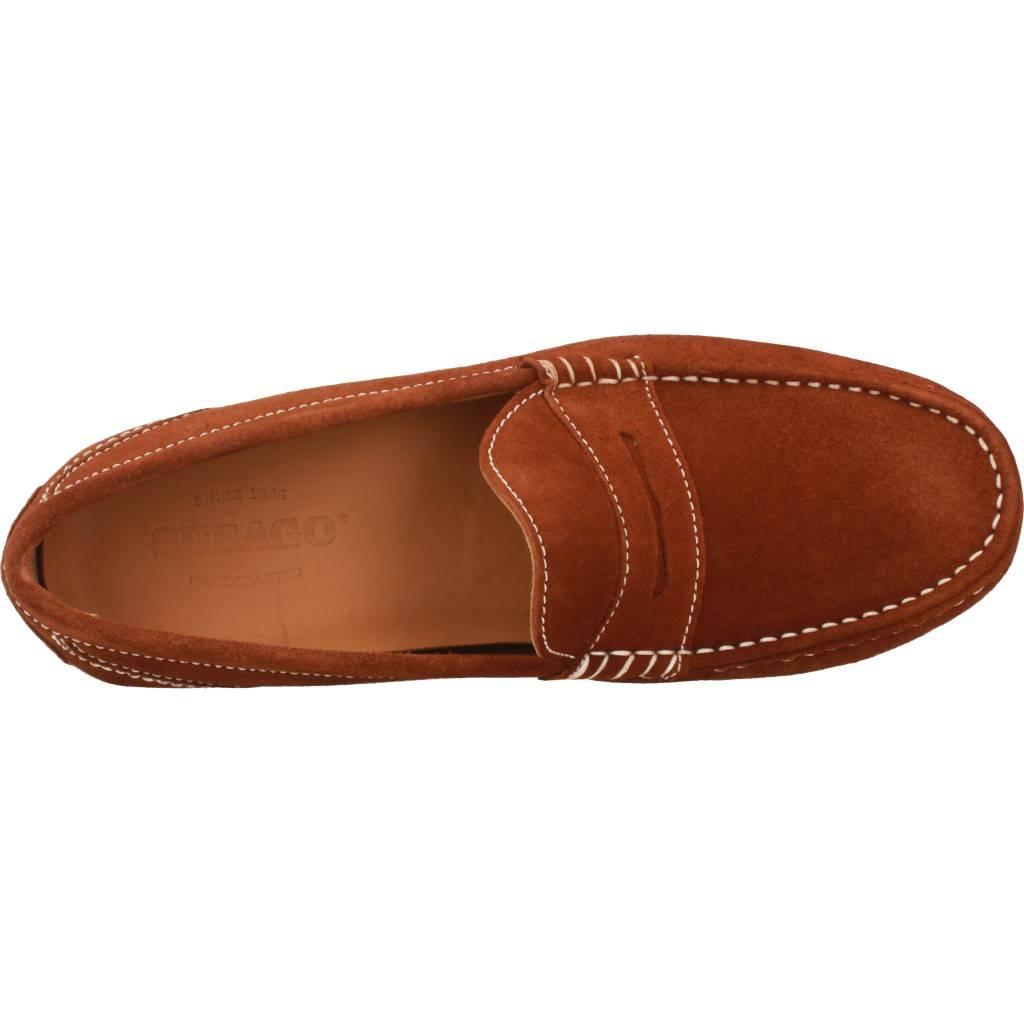 Sebago Trenton Penny Marron Zacaris Zapatos Online - Gran Venta