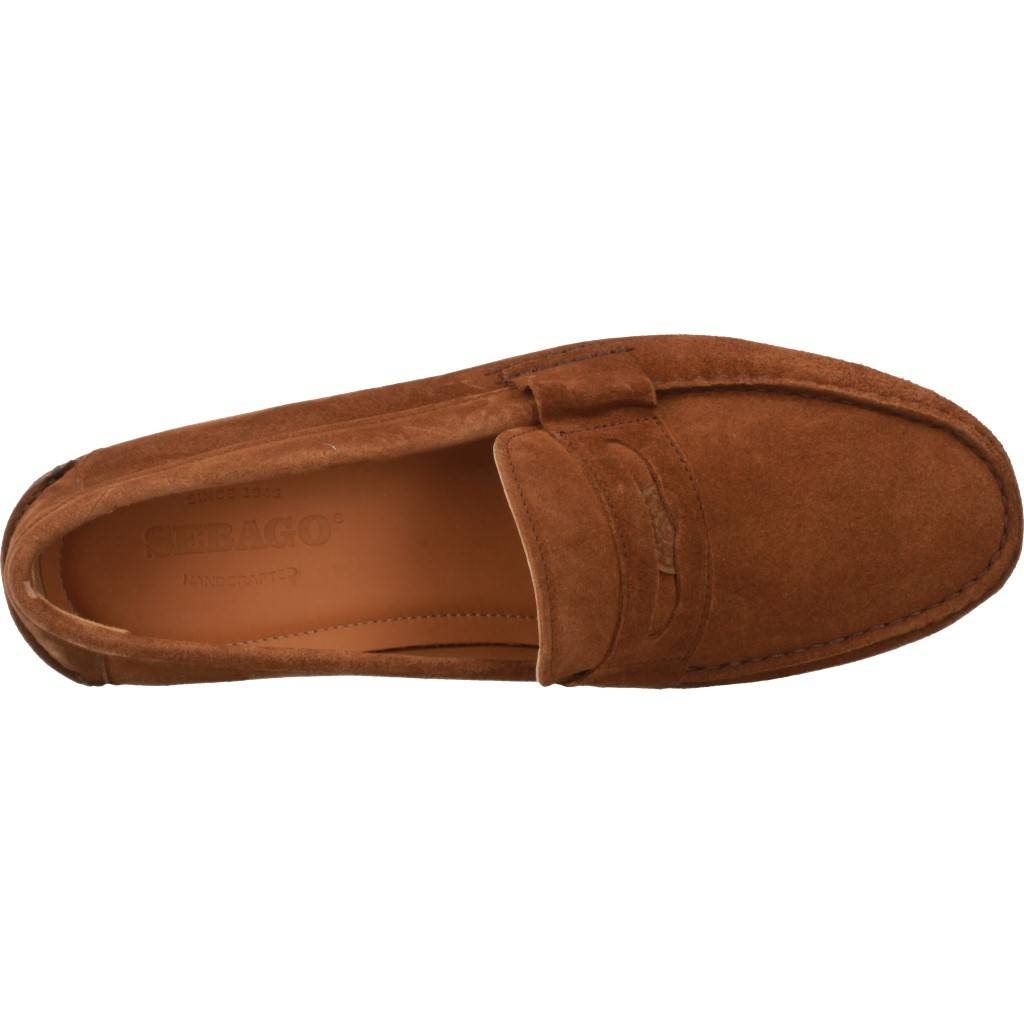 Sebago Conrad Penny Marron Zacaris Zapatos Online - Gran Venta