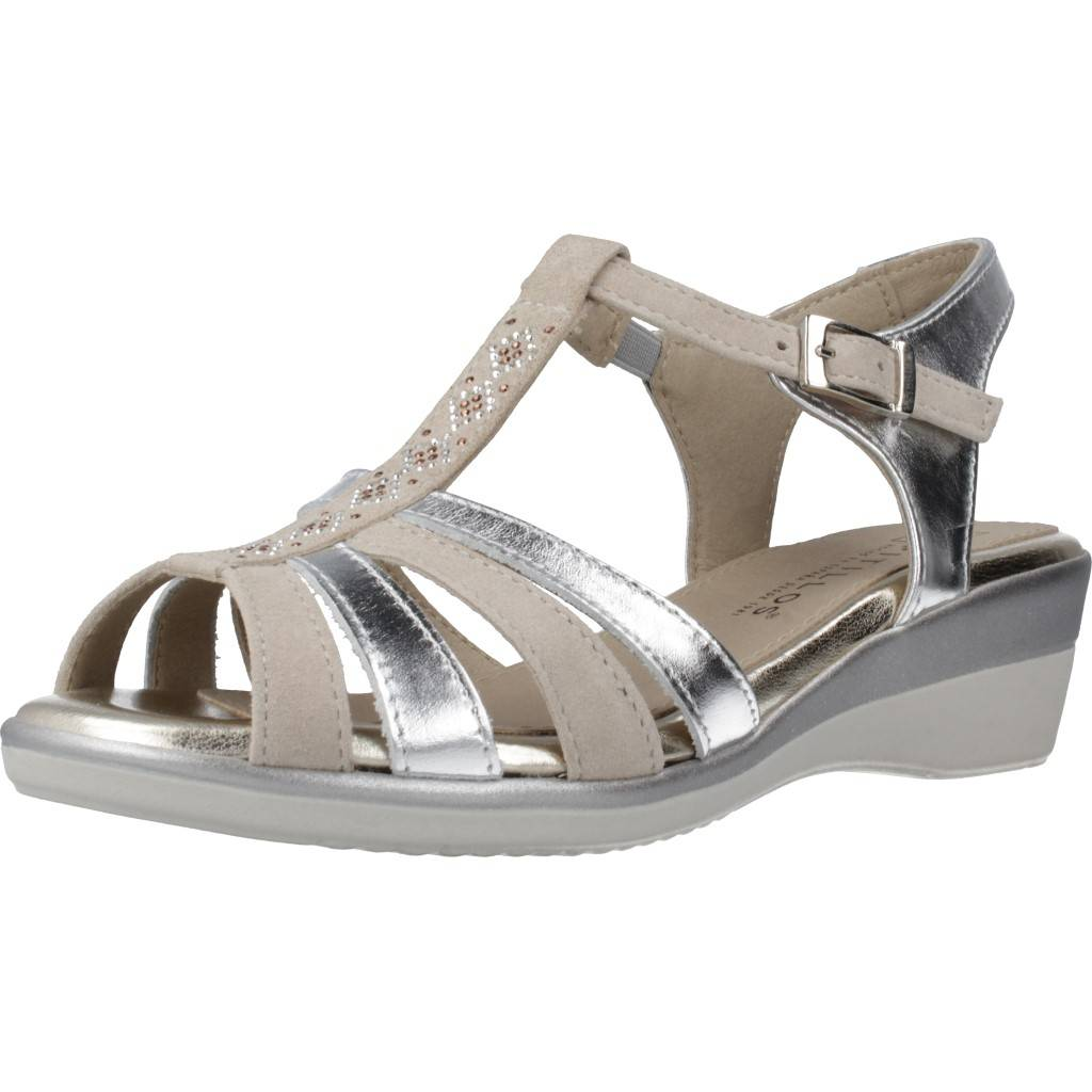 Pitillos 6013 V20 Plata Zacaris Zapatos Online - Gran Venta