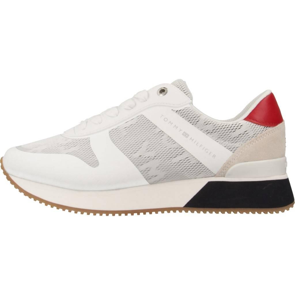 7d3f6c26e27 TOMMY HILFIGER FW0FW04026 BLANCO Zacaris zapatos online.
