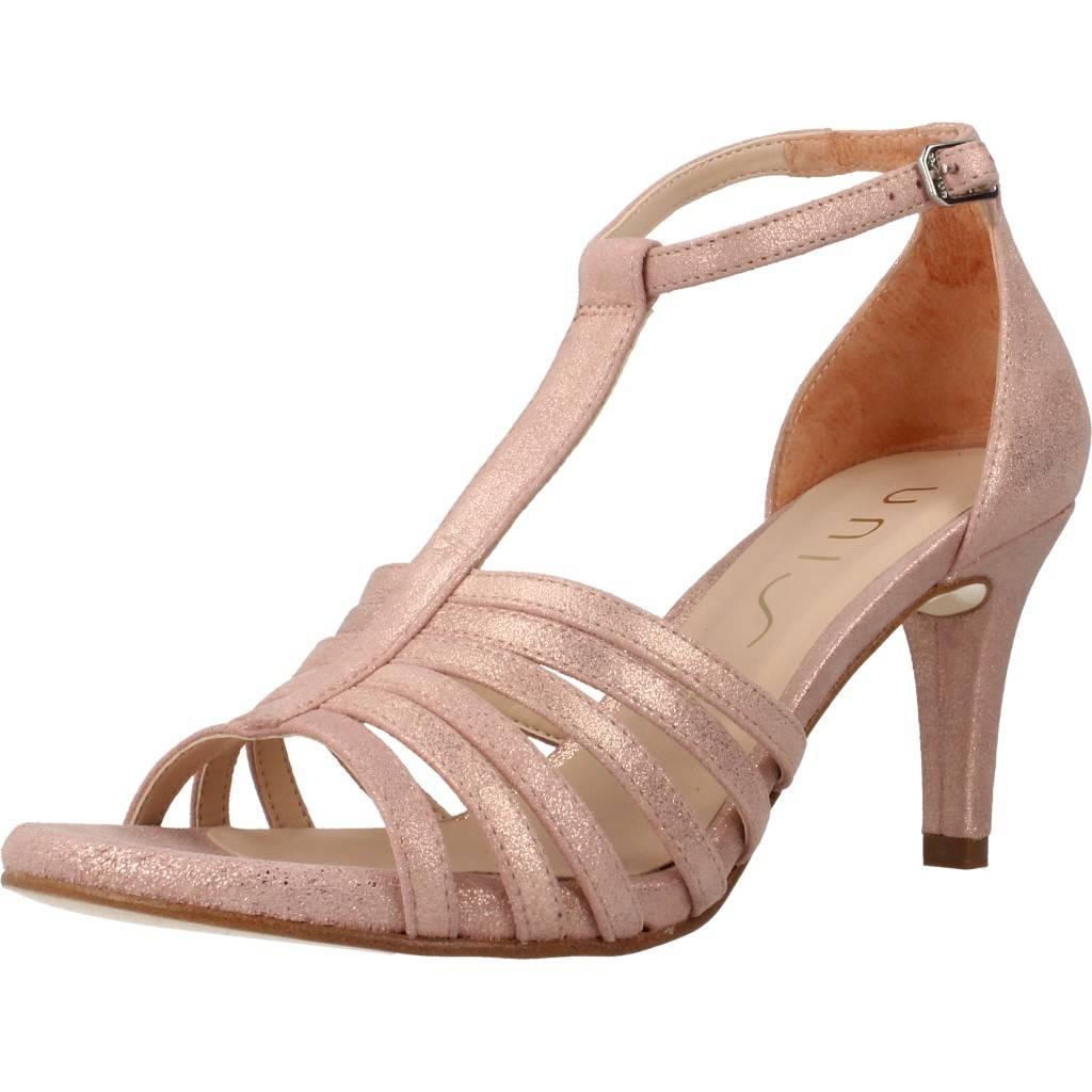 Sandalias de fiesta Mujer UNISA OCELLO MTS, Color Rosa