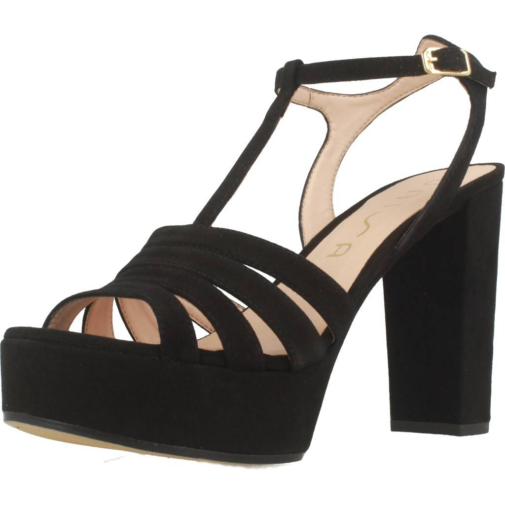 Sandalen Sandaletten UNISA VECEA KS, Farbe Schwarz   eBay ab716c9ec6