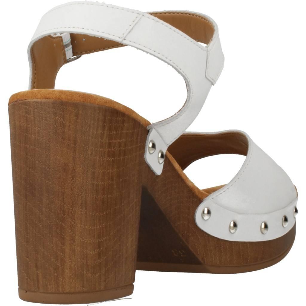 Unisa Taco Ran Blanco Zacaris Zapatos Online - Gran Venta