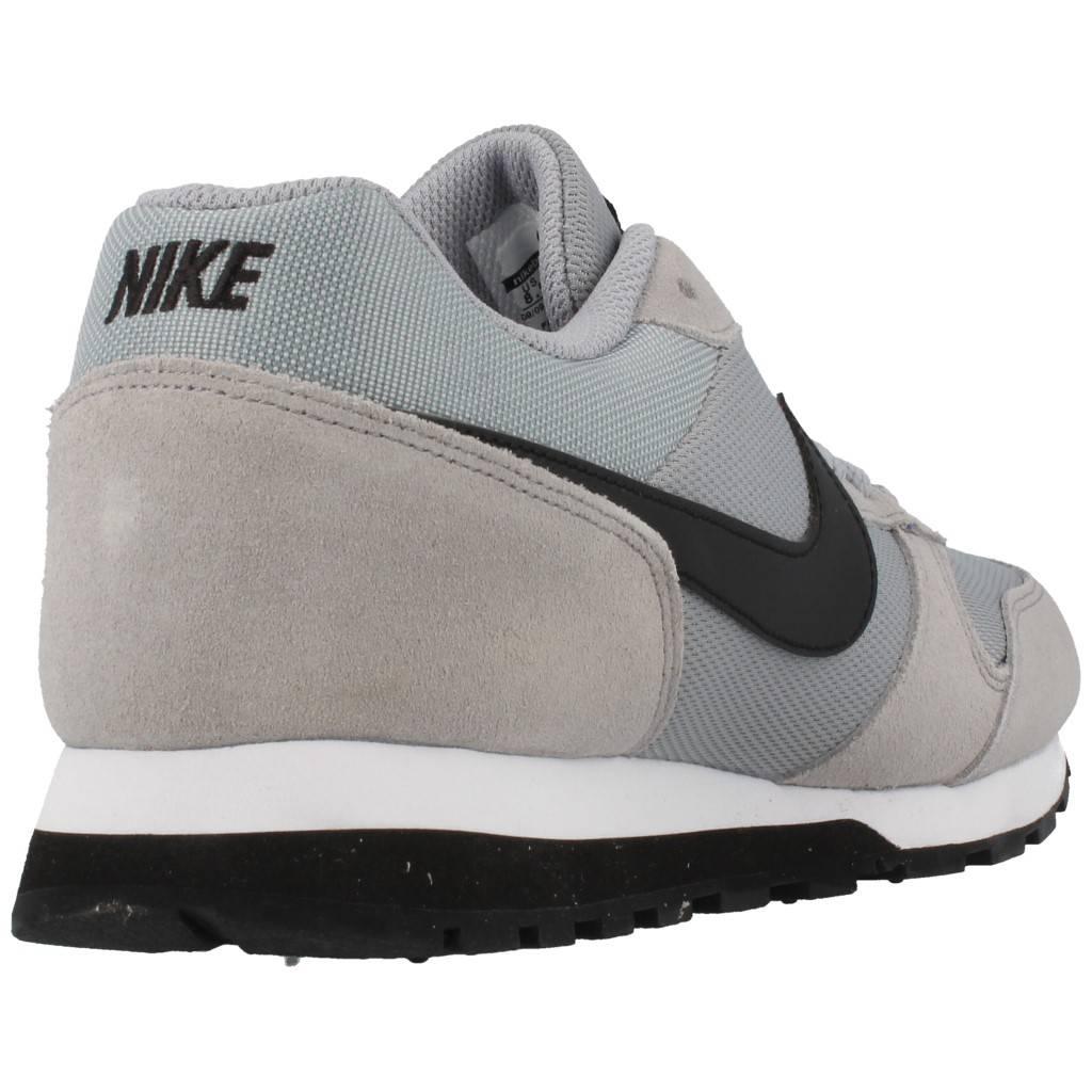 Nike Md Runner Gris Zacaris Zapatos Online - Gran Venta