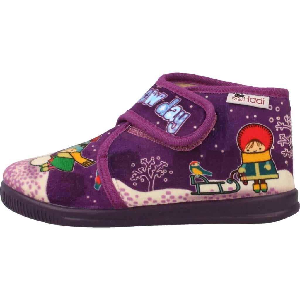 Grandes precios de zapatos para hombres y mujeres VULLADI 4101 140 VIOLETAZapatos niños  Zapatos Niñas  Zapatillas Hogar  Zapatillas Hogar