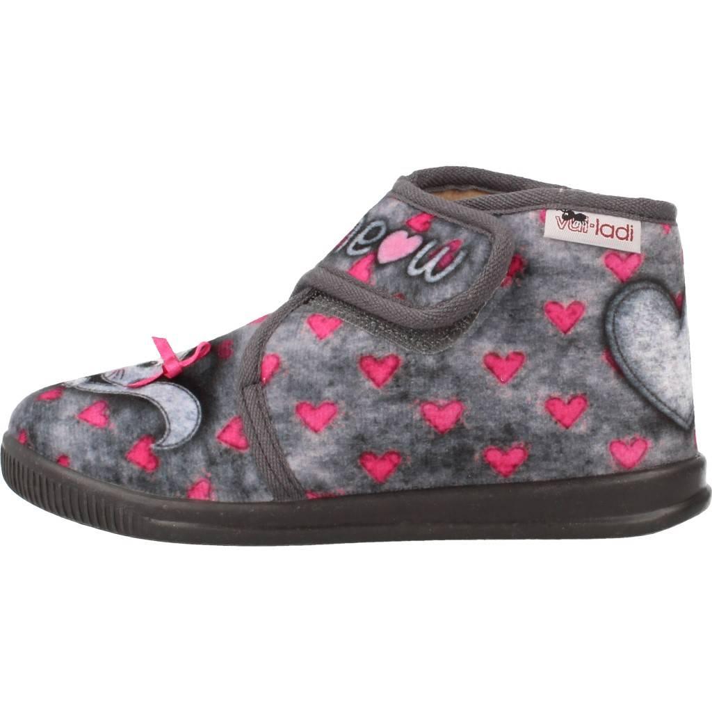 Grandes precios de zapatos para hombres y GRISZapatos mujeres VULLADI 4125 140 GRISZapatos y niños  Zapatos Niñas  Zapatillas Hogar  Zapatillas Hogar 031f97
