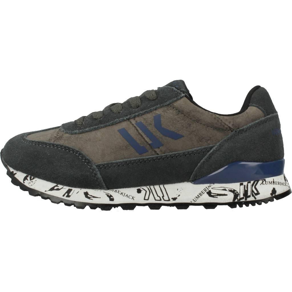 Grandes precios de zapatos para hombres y mujeres LUMBERJACK SB37005 GRISZapatos niños  Zapatos Niños  Zapatillas