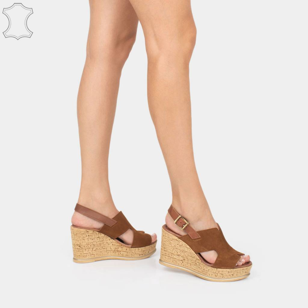 Zian 15675_36 Marron Claro Zacaris Zapatos Online - Gran Venta
