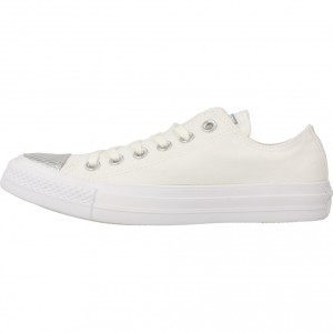 CHUCK TAYLOR ALL STAR WHITE SILVER