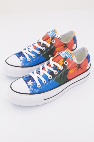 3bc75c9d6 CHUCK TAYLOR ALL STAR PARADISE PRINTS LIFT LOW. CONVERSE