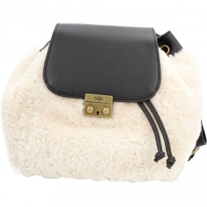 W VIVIENNE SHEEPSKIN BACKPACK