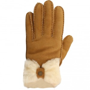 SHEEPSKIN BOW GLOVE