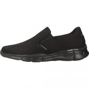 Skechers on-the-GOLux - Zapatillas de material sintético hombre, color gris, talla 45