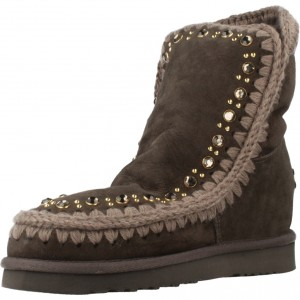 3e07a497af9 MOU INNER WEDGE STUDS AND CRYSTALS MARRON CLARO Zacaris zapatos online.