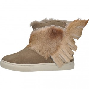 SNEAKER WITH ANTELOPE FRINGES