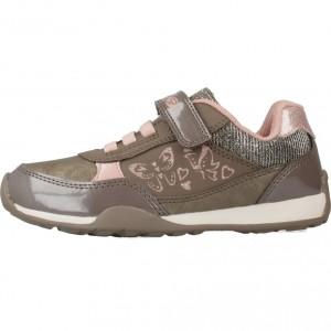 ofertas zapatos geox para niños, Geox 75712 marrón niña