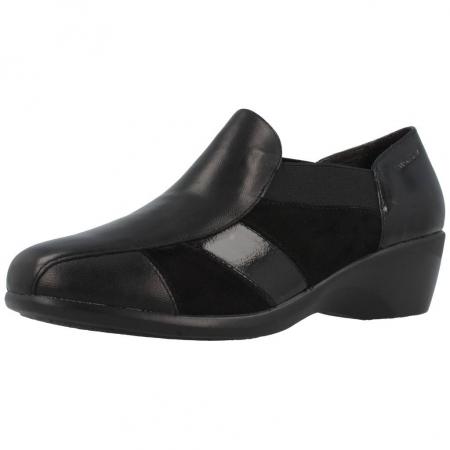 Stonefly Zapatos Para Mujer, Color Negro, Marca, Modelo Zapatos Para Mujer Licia 18 Negro