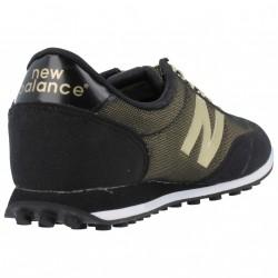 zapatillas new balance negras y doradas
