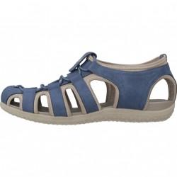 GEOX D SANDAL VEGA AZUL Zacaris zapatos online.